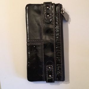 Black Fossil leather wallet